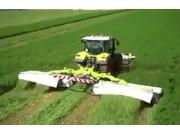 科乐收CLAAS青贮收割机作业视频