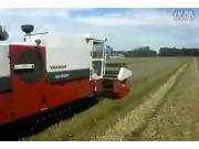 洋马CA1200大型全喂入收割机作业视频