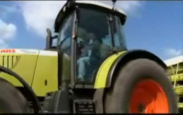科乐收(CLAAS)ARES 500-600拖拉机(一)