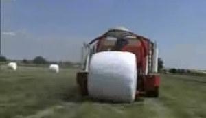 威力格尔圆捆包膜机
