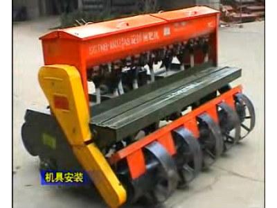 亚澳农机-免耕播种机的介绍和使用方法