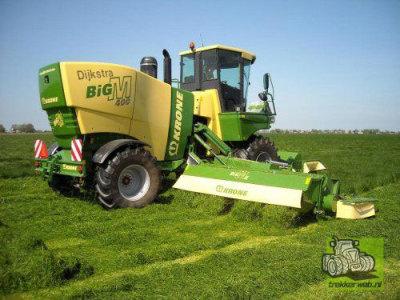 科罗那Krone big M400牧草收获机