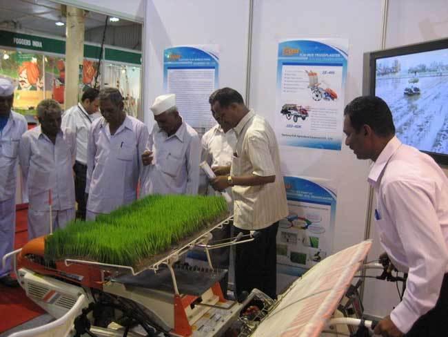 富来威参加2010年印度国际农业展览会取得成功