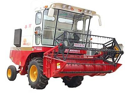 春雨4LZ-2A自走轮式谷物联合收割机
