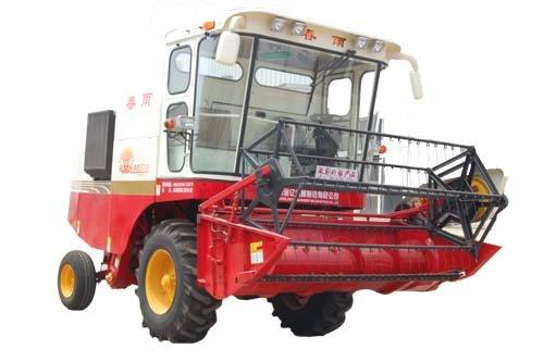 山東金億春雨牌4LZ-2A自走式谷物聯合收獲機