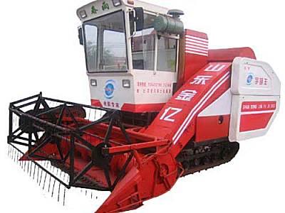 春雨4LZ-2.5自走履带式谷物联合收割机