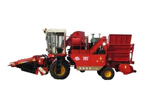 春雨牌4YZ-3B型自走式玉米联合收割机