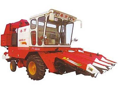 山东金亿春雨4YZ-3玉米收割机