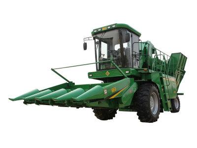 迪马4YZ-4摘穗剥皮型自走式玉米收获机