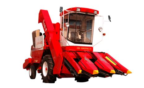 东方红4YZ-3玉米收割机