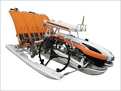 小精2ZX-430A扶步進式水稻插秧機