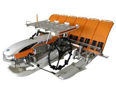 小精AP60手扶步进式水稻插秧机