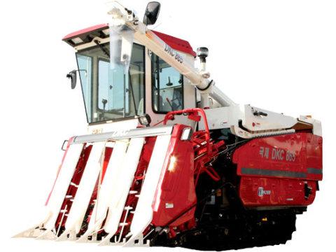 安徽国际京田865EX-T 半喂入水稻联合收割机