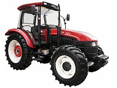 山拖泰山TS1204四轮驱动拖拉机