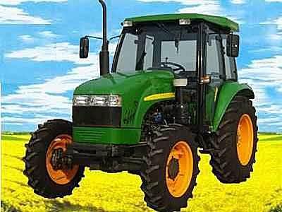 英福莱DQ554四轮驱动拖拉机