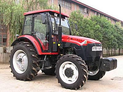 路阳红-904(LT904)四轮驱动拖拉机
