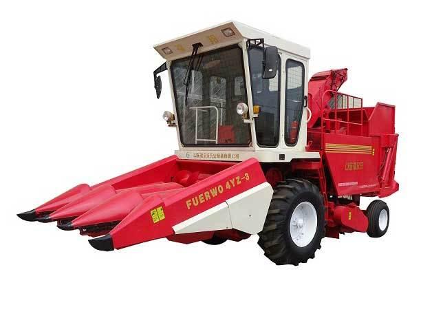 福尔沃福邦4YZ-3自走式玉米收获机