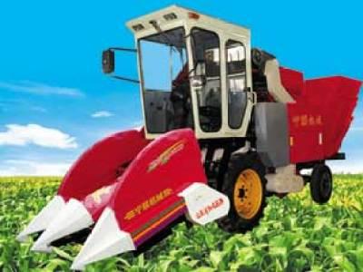 宁联4YZ-2摘穗剥皮型自走式玉米收获机