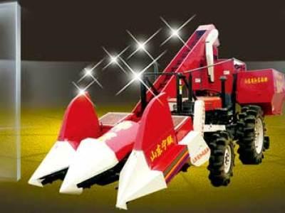 宁联4YW-2背负式玉米收获机