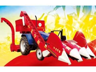 宁联4YWH-3背负式玉米收获机