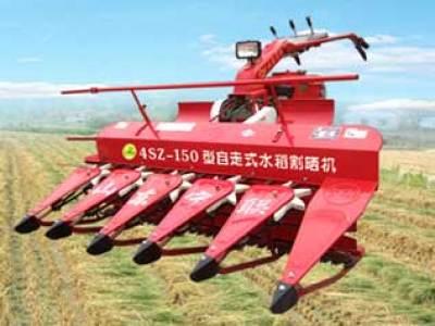 宁联4SZ-120稻麦割晒机