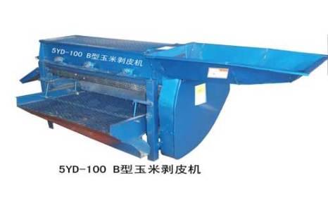 福麟5YB-100B玉米剥皮机