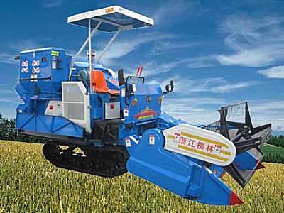 柳林4LZ-2.0自走履带式谷物联合收割机