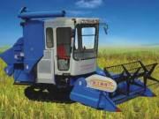 柳林4LZ-3.0全喂入履带式谷物联合收割机