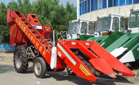 东齐德来4YB-2背负式玉米收割机