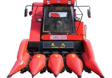 天人TR9988-4A四行自走式玉米聯合收獲機