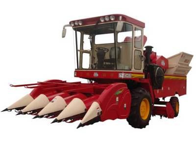新三王4YZ-4玉米联合收获机