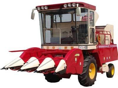 新三王4YZ-3玉米收割机