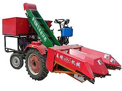 春明4YW-2悬挂(背负)式玉米收获机