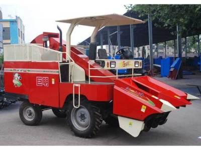 巨明4YZ-2摘穗型自走式玉米收获机