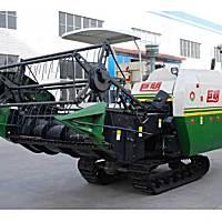 巨明4LZ-3履帶式全喂入水稻聯合收割機