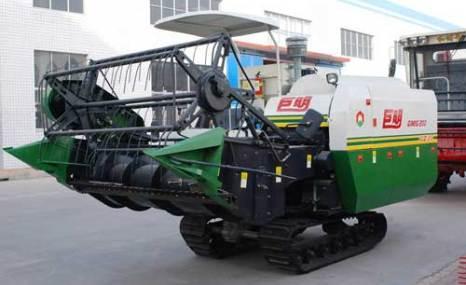山东巨明4LZ-3型履带式全喂入水稻联合收割机