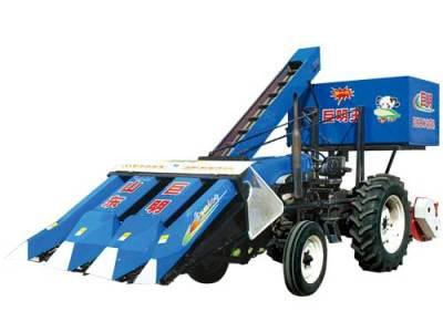 山东巨明4YW-3背负式玉米收割机