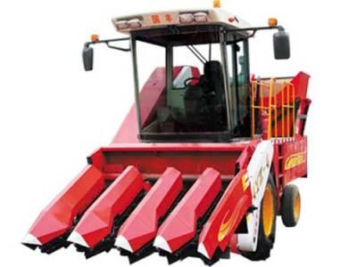 国丰4YZ-4自走式玉米收获机