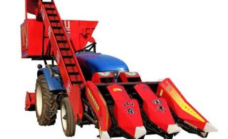 山东国丰4YW-3背负式玉米收割机