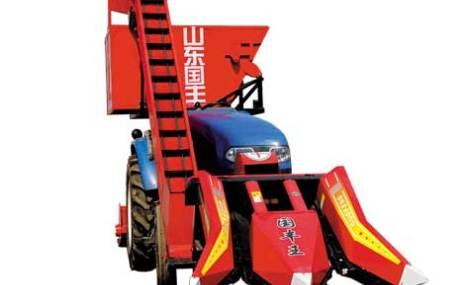 山东国丰4YW-2背负式玉米收割机