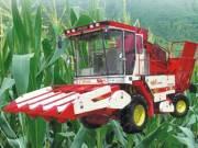 中联4YZ-4自走式玉米收获机