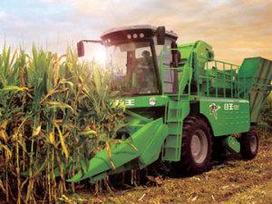 奇瑞4YZ-4H摘穗剥皮型自走式玉米收获机