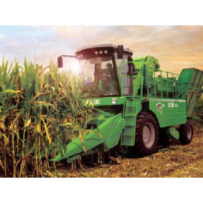 奇瑞4YZ-4A摘穗剥皮型自走式玉米收获机