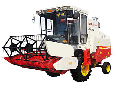 福田谷神4LZ-2(麦客)全喂入谷物联合收割机