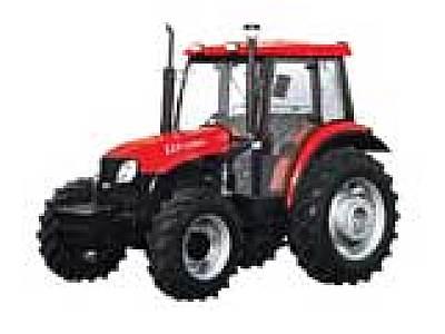 东方红LX754四轮驱动拖拉机