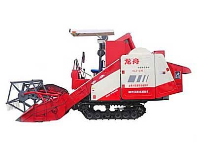 龙舟4LZ-2.0自走履带式谷物联合收割机