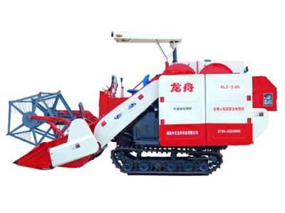龙舟4LZ-2.0N自走履带式谷物联合收割机