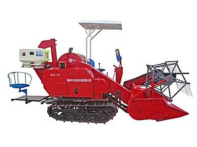龙舟4LZ-1.0自走履带式谷物联合收割机