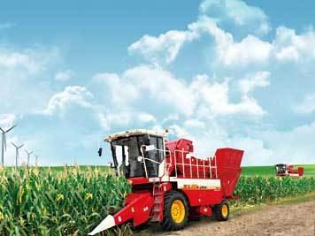 雷沃谷神4YZ-4(CP04)玉米收割机