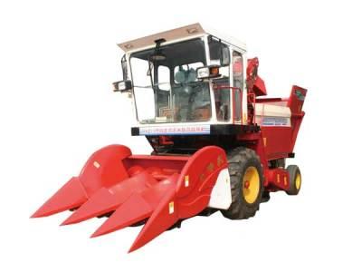 农哈哈4YZ-3玉米收获机
